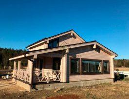 Дом из клееного бруса в Выборге