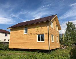 Каркасный дом  в поселке Новый Свет