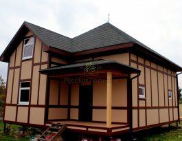 Каркасный дом 10х8