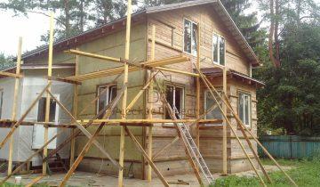Утепление дома и монтаж сайдинга в Зеленогорске
