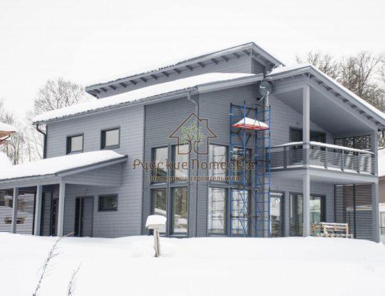 Каркасный дом в Вартемягах