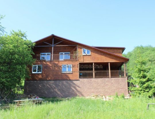 Каркасный дом 12х15м в Малой Вишере