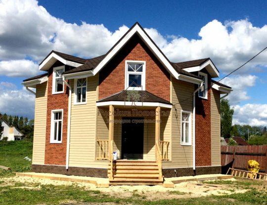 Каркасный дом 8х8м в Борницах