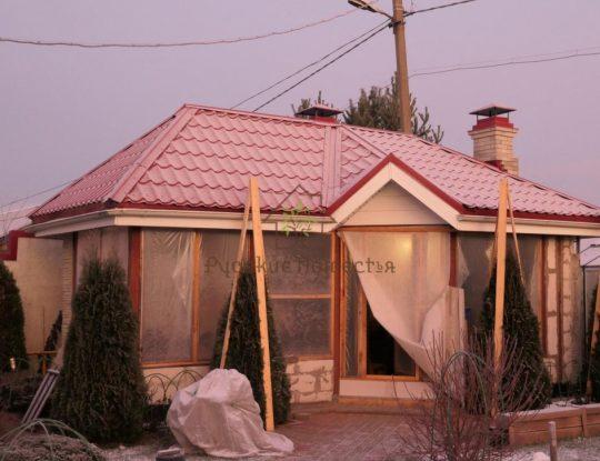 Реконструкция крыши Поляны-2