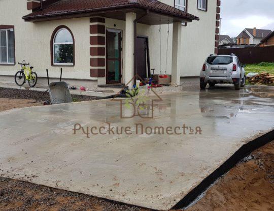 Фундамент, посёлок Ропша