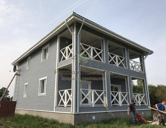 Каркасный дом в Лезье