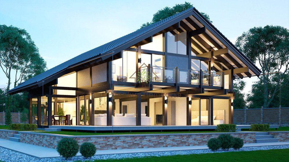 Дома по технологии фахверк: история и современные постройки