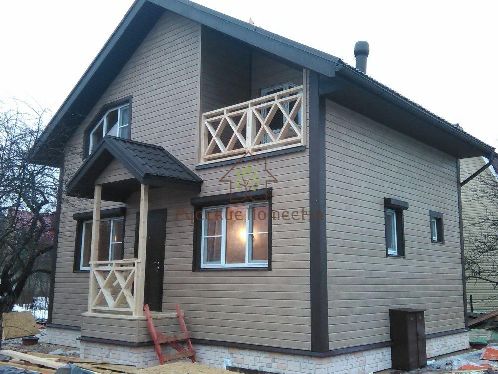 Завершено строительство каркасного дома