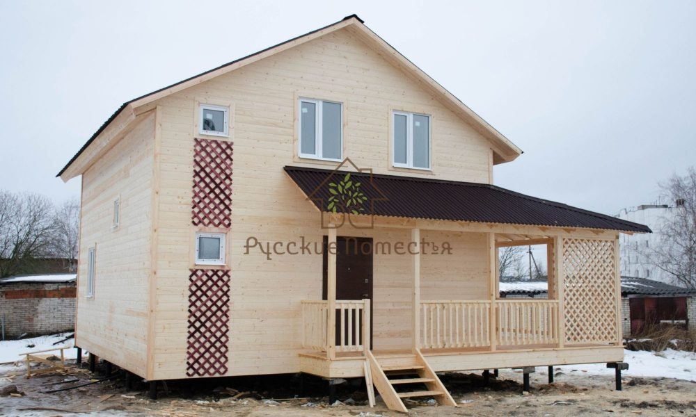 Завершено строительство каркасного дома под ключ