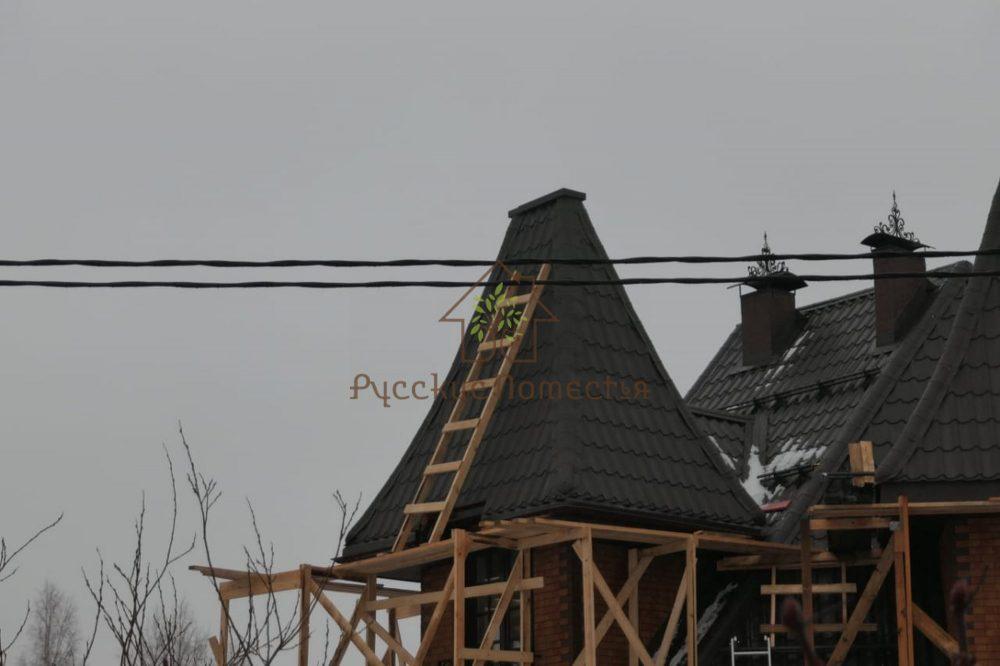 Завершена реконструкция кровельного покрытия на башнях